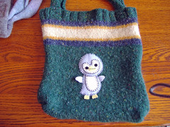 Penguin Sweater Tote