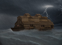 The Ark on a Stormy Sea