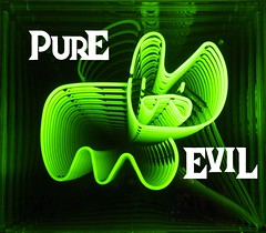 INFINITE BUNNY 1 (pure evil gallery) Tags: bunny neon evil pure infinite