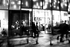 night walk (since73) Tags: street city people urban bw japan night canon tokyo walk illumination led hills boutique omotesando  mywinners rebelxti eos40