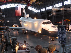 Air and Space Museum - Space Shuttle (blmiers2) Tags: travel vacation graveyard museum plane canon airplane geotagged washingtondc smithsonian washington other dulles nikon alt space flag aircraft aviation military air airplanes americanflag astronaut powershot nasa shuttle mission spacetravel g6 enterprise museums spaceshuttle fairchild kennedy hanger nationalairandspacemuseum vacanza spacecraft dullesairport annex airandspacemuseum