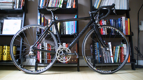 SRAM Force road bike completed