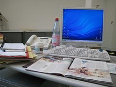 my desk (christianee) Tags: office bro