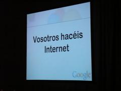 Vosotros hacéis internet
