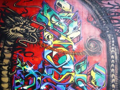 Chasing the Tail Graffiti