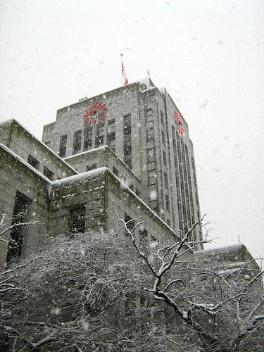 Snowy City Hall
