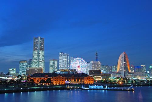Yokohama minato mirai night