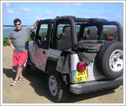 My Jeep on St. Maarten was the DIFF!