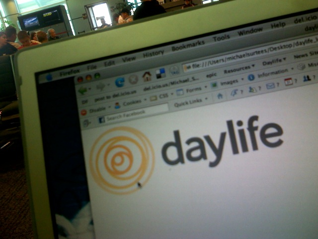 Daylife - I'm now the Design Director there