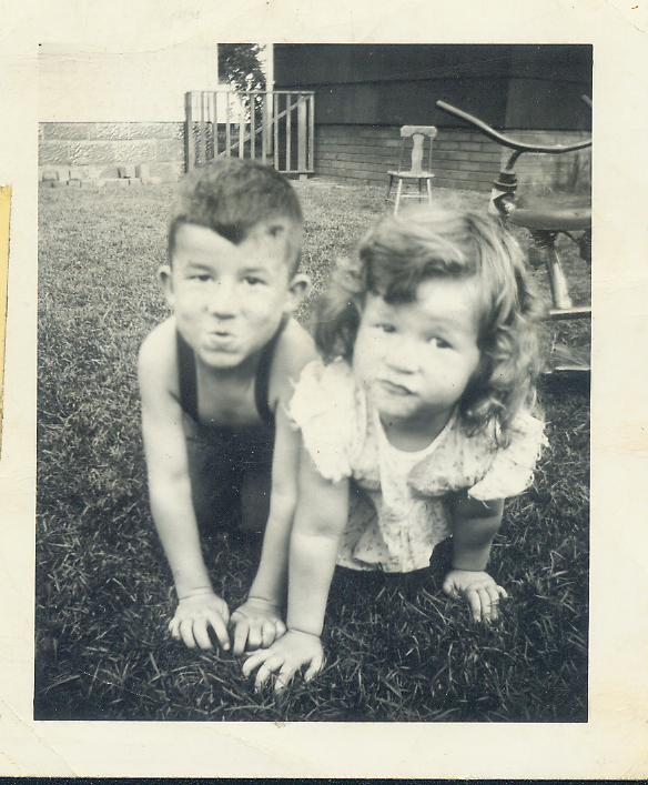 Dad and rosemary 1948