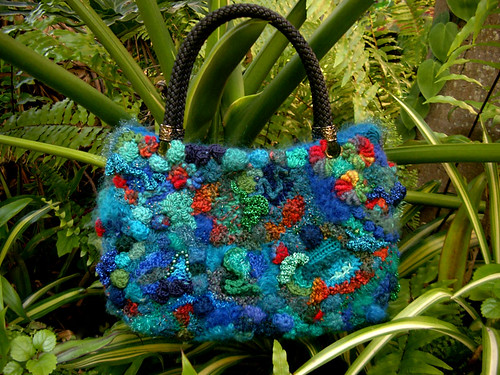 freeform handbag by Prudence