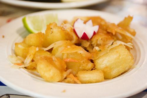 fried yucca!!