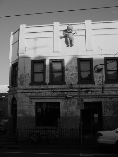 The cool and artsy Brunswick Street, Melbourne.