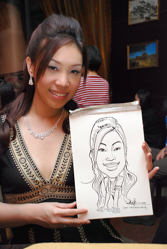 Caricature bithday party 311207 10