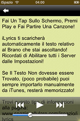 iLyrics for iPhone from iSpazio.net 2