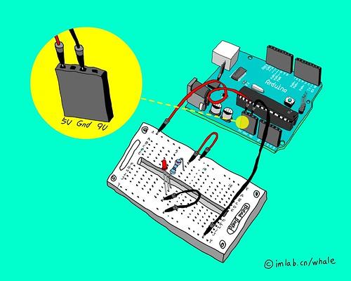由Arduino供电的电路