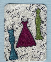 Stickles - Girl Thing ATC