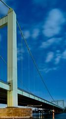Thumb Autobahnbrücke Rodenkirchen im Mondschein