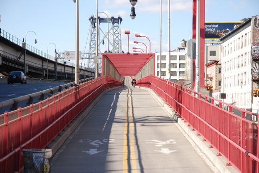 Williamsburg Bridge Bikelane