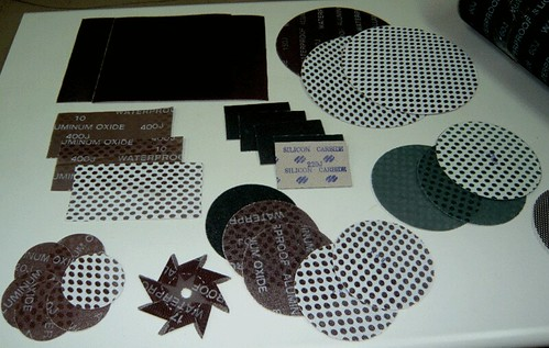 Products of Abrasives