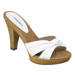 tawny sandals