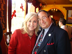 "Virginia Grace Green with Steve Levine, Publisher of Real Estate Executive Magazine, Houston Business Show Live Broadcast at ""El Tiempo"" Restaurant (StealthMarketer) Tags: foxnews jennifercolon universityofhouston kevinprice mikealexander jimoneill andyvaladez stevelevine houstonneighborhoods marketingdynamics bauercollegeofbusiness houstonrealestatetoday carolebaker houstonbusinessshow houstonbusiness businessradio robbieadair donaldleonard virginiagrace joestiles johodell"