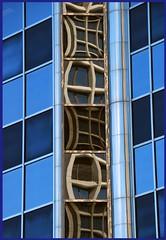 Chinese windows 1 (Jerzy Durczak) Tags: blue windows reflection vancouver chinese jurekd superbmasterpiece