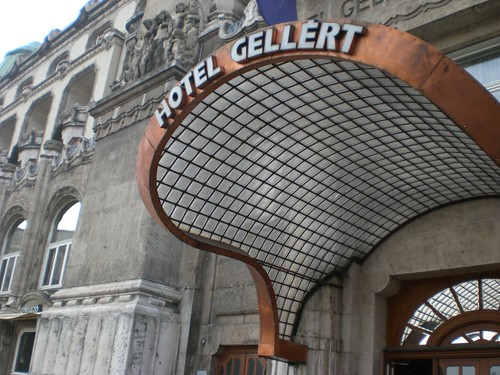 Hotel Gellert Budapest - art deco design
