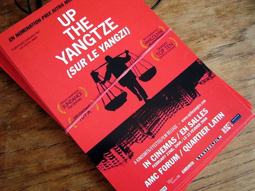 Sur le Yangzi / Up the Yangtze