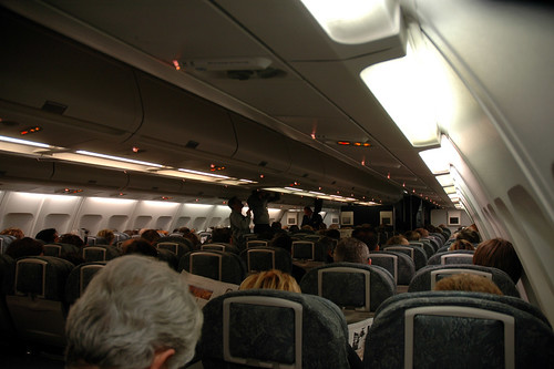 Air Canada A330 Cabin In-Flight