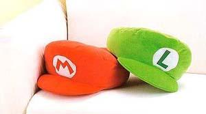mario_luigi_hat_cushion_shop