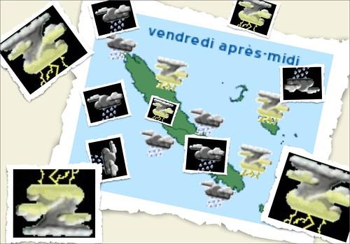 Prevision meteo vendredi 7 mars