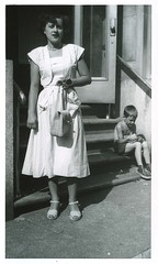 the outing (signs and wonders) Tags: vintage vernacular snapshots handbag vintagepurse