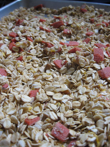Meyer Lemon Guava Granola