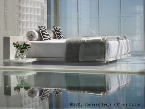 In Miniature: Miniarc Bed No. 1 (as table top art)