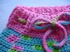 Crocheted Wool Soaker/Shorties w/ Bulky BFL (lrg)