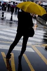 (YanivG) Tags: people italy black umbrella yellwo napoli