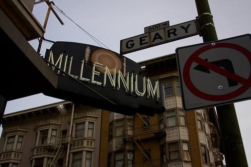 millenium- SF  vegan restaurant!!