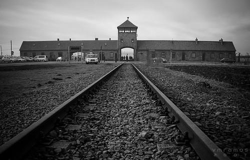 Entrada de Auschwitz Birkenau *