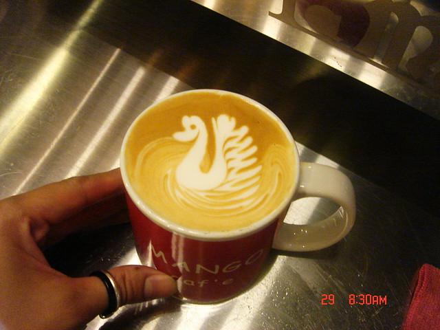 4-29 My latte art~ My style~!!