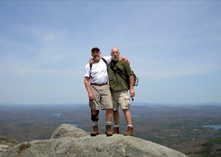 on top of monadnock