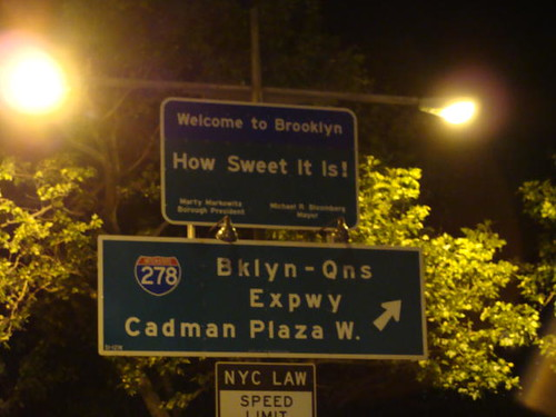 Welcome to Brooklyn.