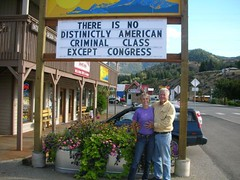 Pete and Helen McCloskey in Twisp, Washington