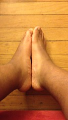 IMG_3482 (_bagent1) Tags: myfeet boyfeet chubbyfeet barefeet bearfeet thickfeet chubbytoes chubby chubbysoles soles slides sandals tops toes