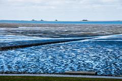 tideland (LiterallyPhotography) Tags: watt wattenmeer hallig hallighooge norstrand schleswigholstein deutschland langenes schlick inseln nordsee wellen deich wiese pfütze blau spiegelung outdoor
