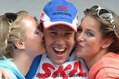 KENNY VAN HUMMEL (DCP-Bert Geerts) Tags: food classic dutch cycling team bert valley van kenny 2009 hummel shimano veenendaal wielrennen dcp geerts skil cyclingteam rondemiss