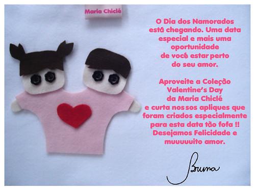 Coleção Valentine's Day ;) by Maria Chiclé ● Design Fofys