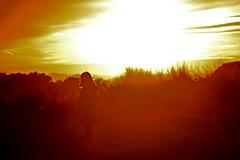 Espectadora (miquelopezgarcia) Tags: sunset sun colors contrast like catalunya costabrava postadesol followme goladelter toroella calids