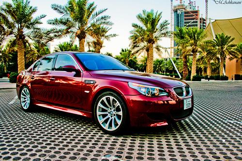 BMW M5 HDR