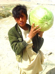 Watermelon Seller (From Afghanistan With Love) Tags: afghanistan digital canon photography rebel travels kiss north kabul zeerak xti safrang hamesha javaid
